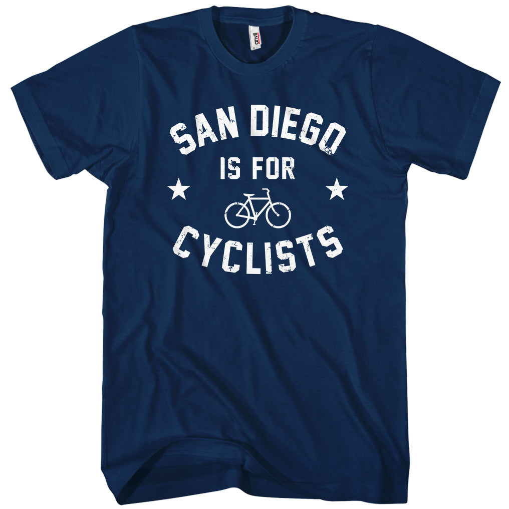 San Diego Is For Cyclists T-shirt