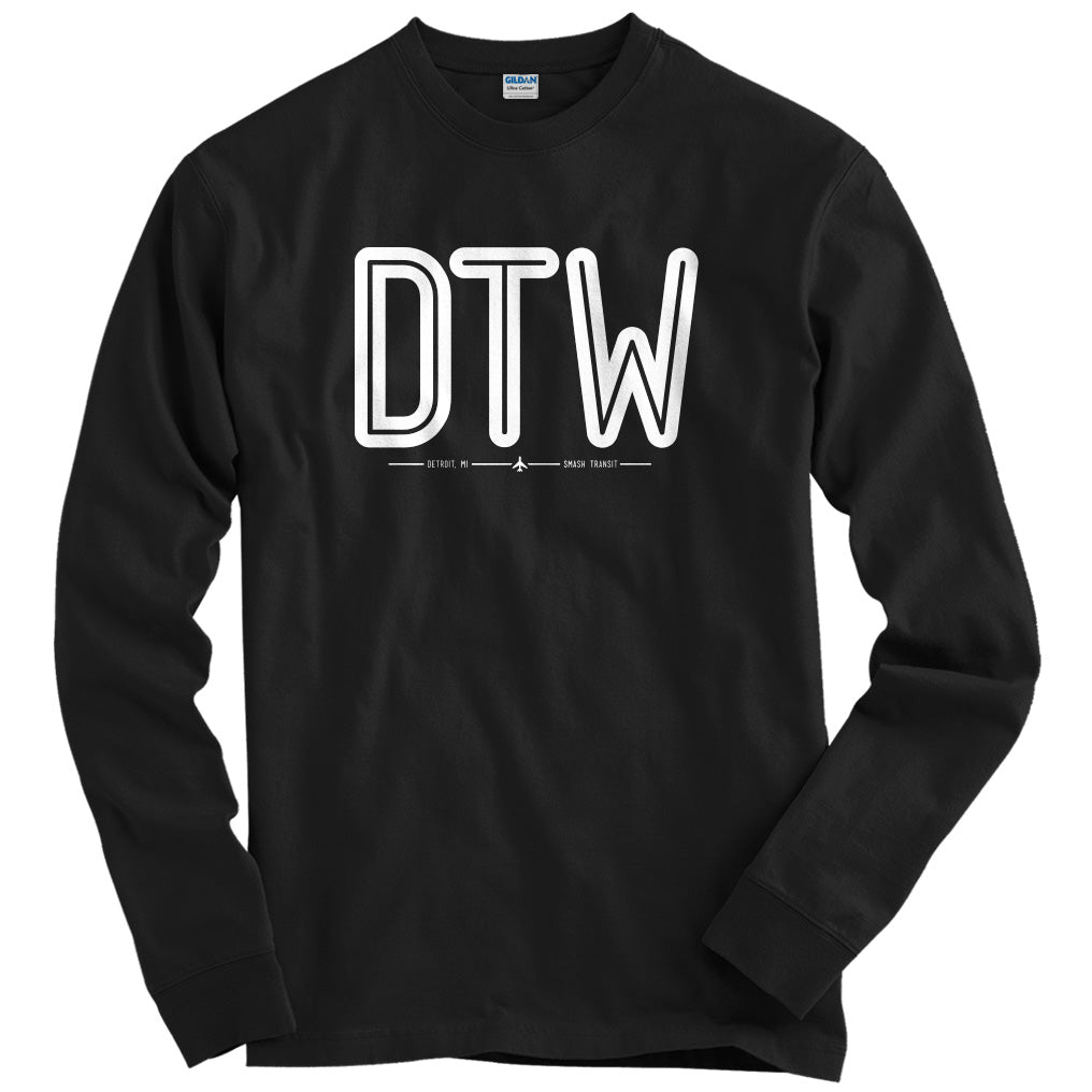 DTW Detroit Airport T-shirt