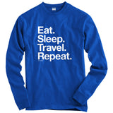 Eat Sleep Travel Repeat T-shirt
