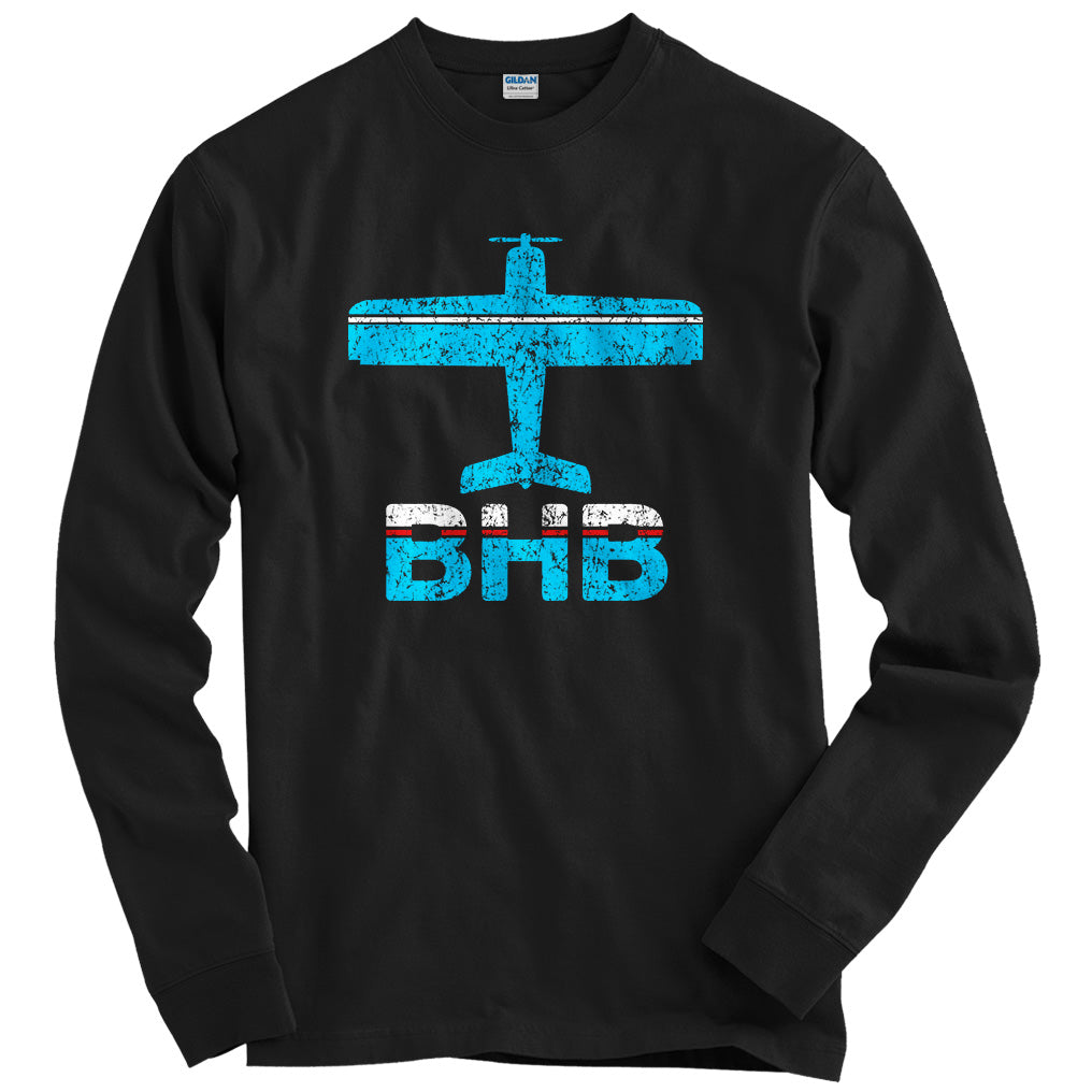 Fly Bar Harbor BHB Airport T-shirt