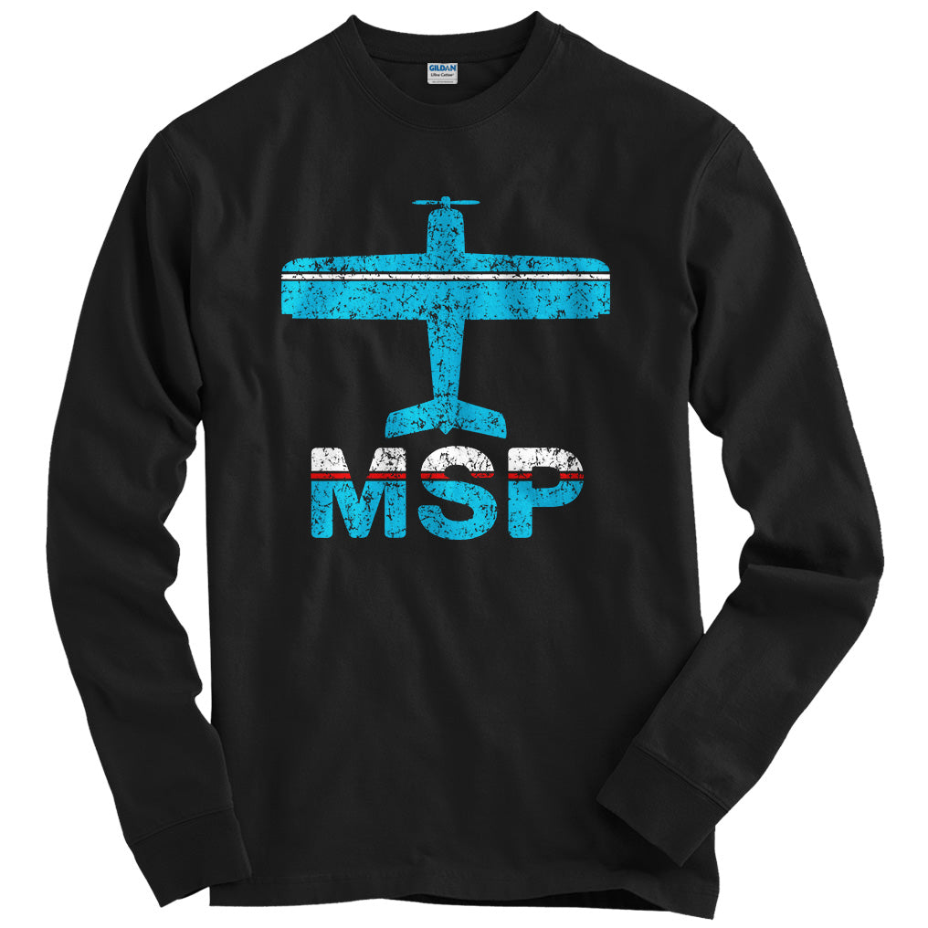 Fly Minneapolis MSP Airport T-shirt