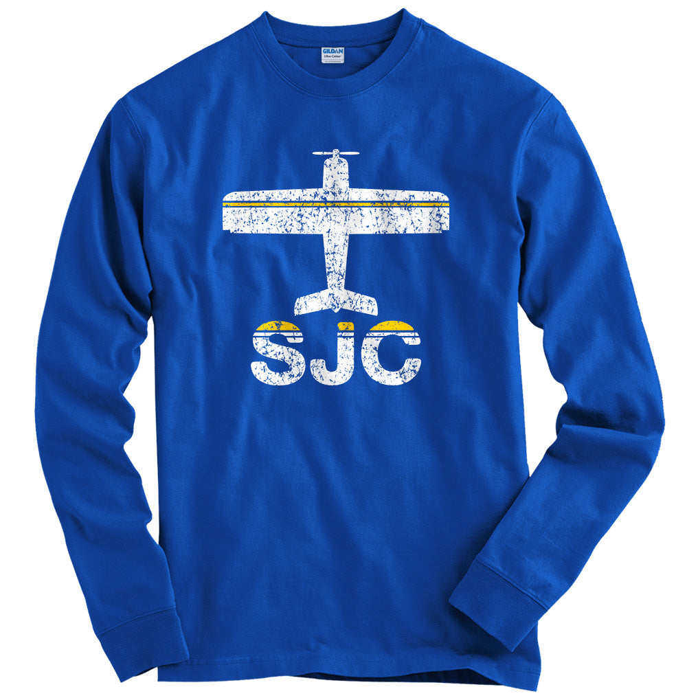 Fly San Jose SJC Airport T-shirt
