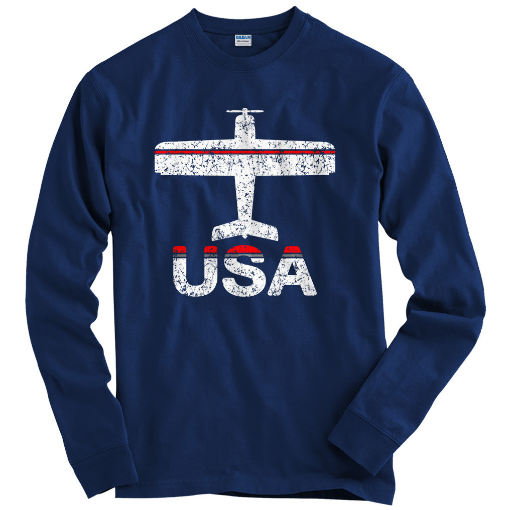 Fly USA Airport T-shirt