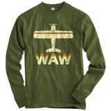 Fly Warsaw WAW Airport T-shirt