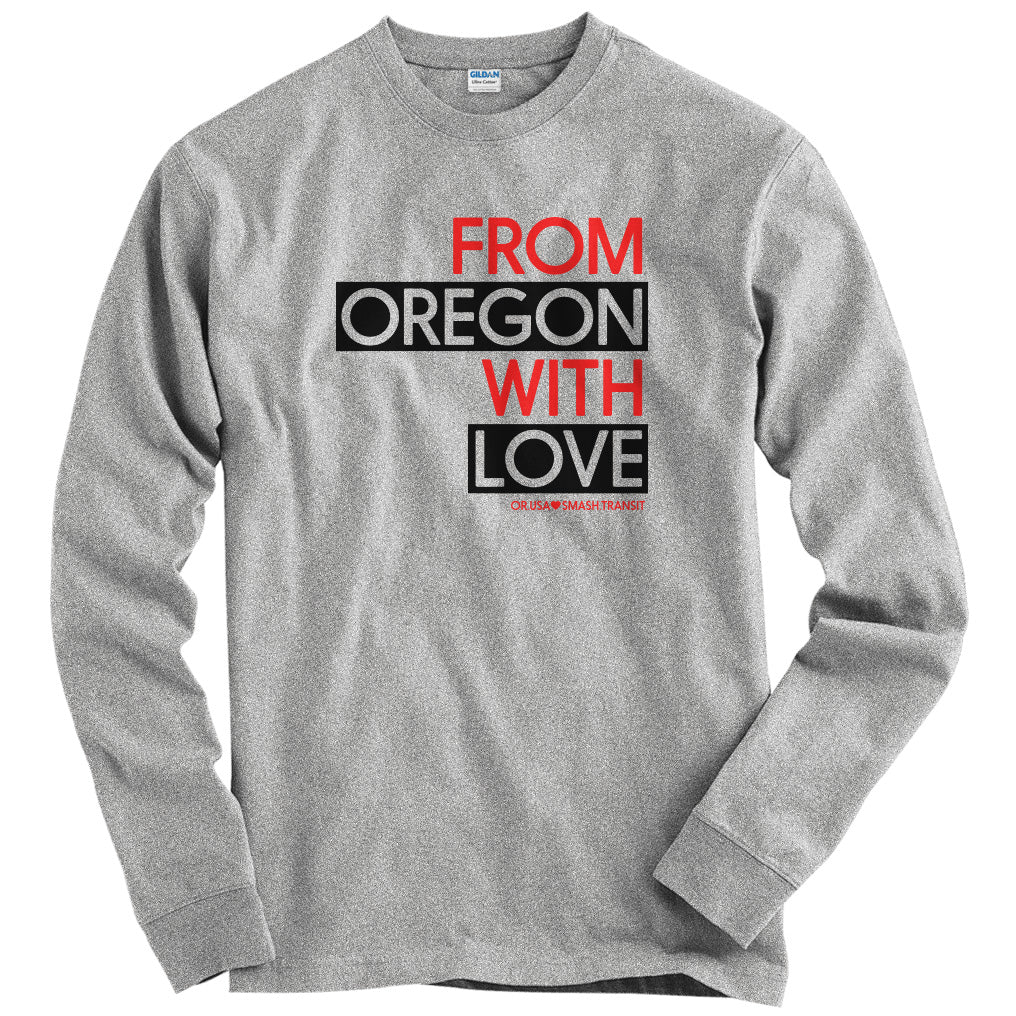 From Oregon With Love T-shirt