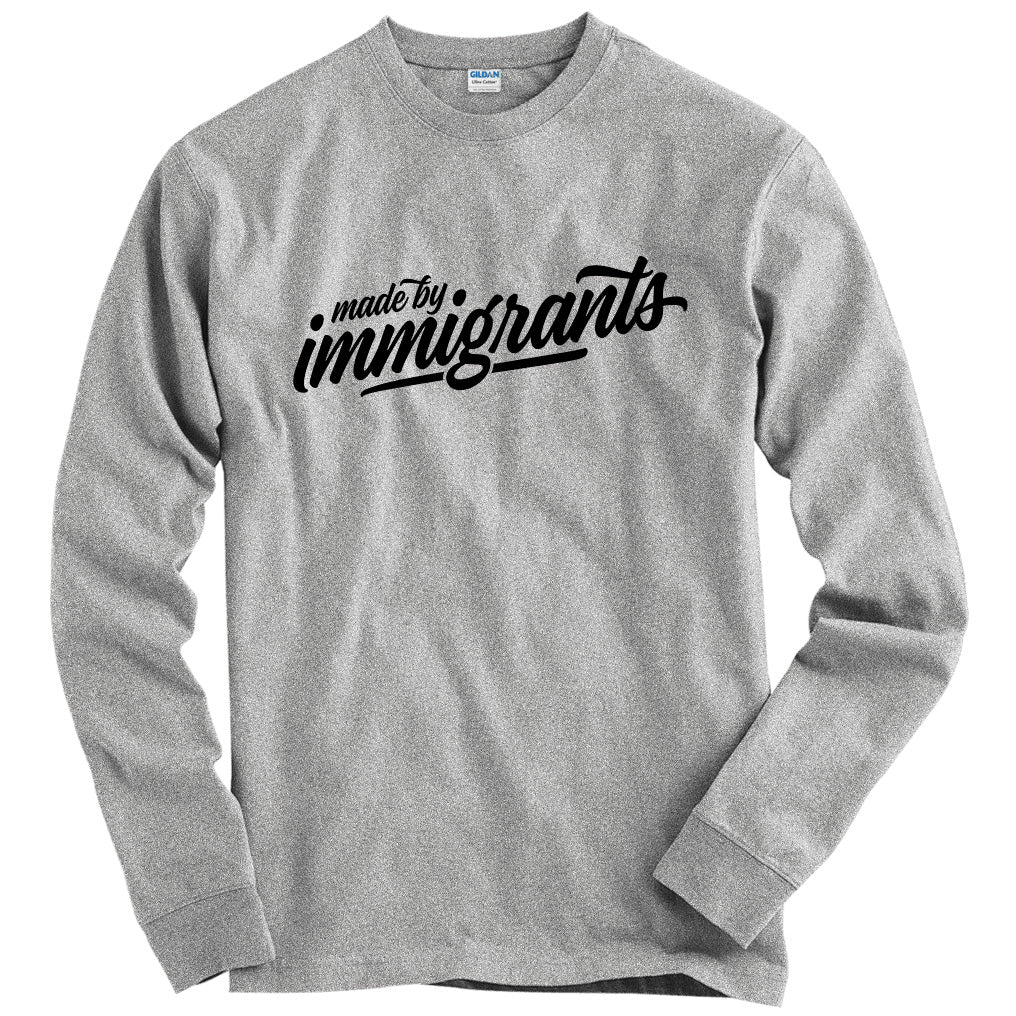Made By Immigrants Script T-shirt
