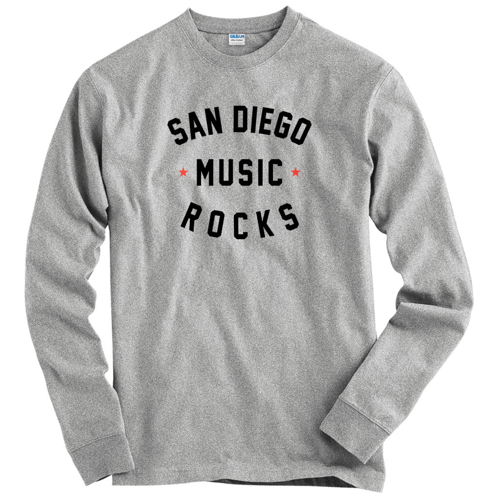 San Diego Music Rocks T-shirt
