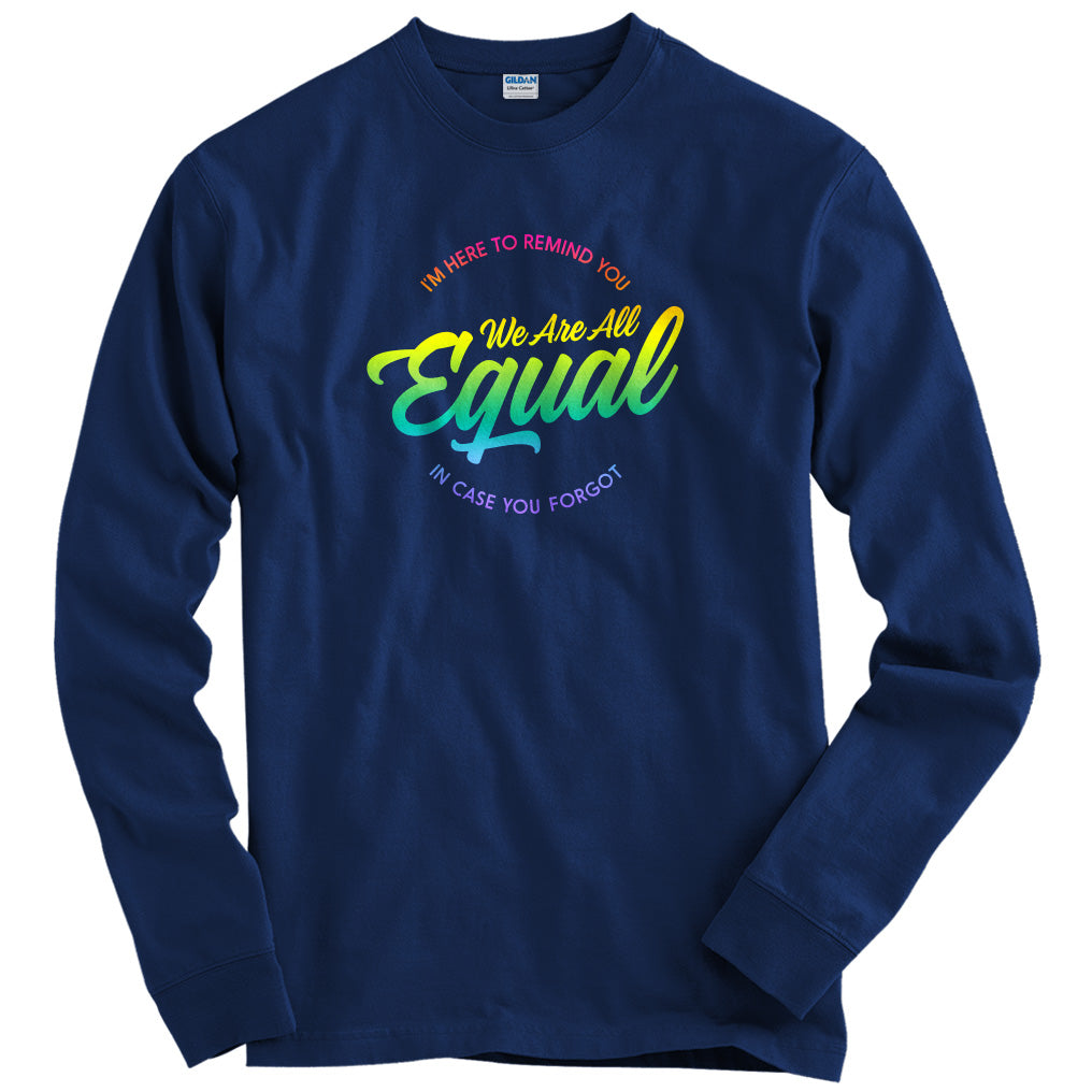 We Are All Equal Rainbow T-shirt