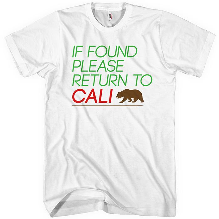 Return to Cali T-shirt