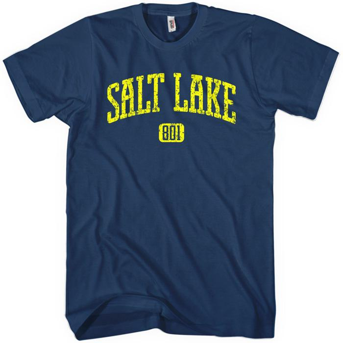 Salt Lake City 801 T-shirt