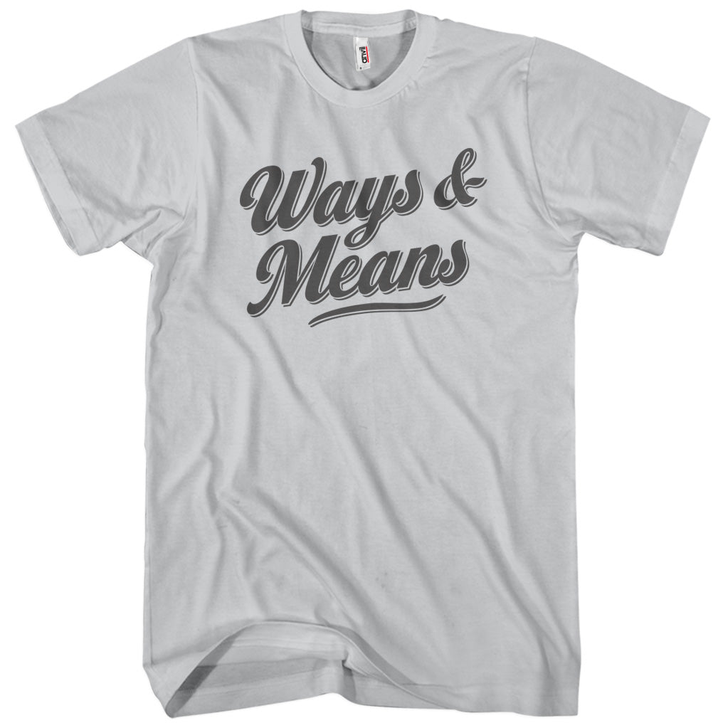Ways & Means T-shirt