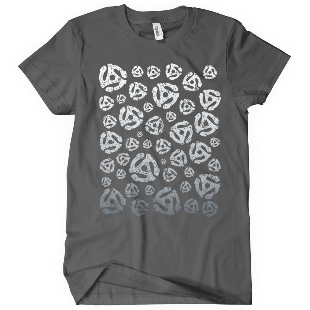 45 45s Grayscale Gradient T-shirt