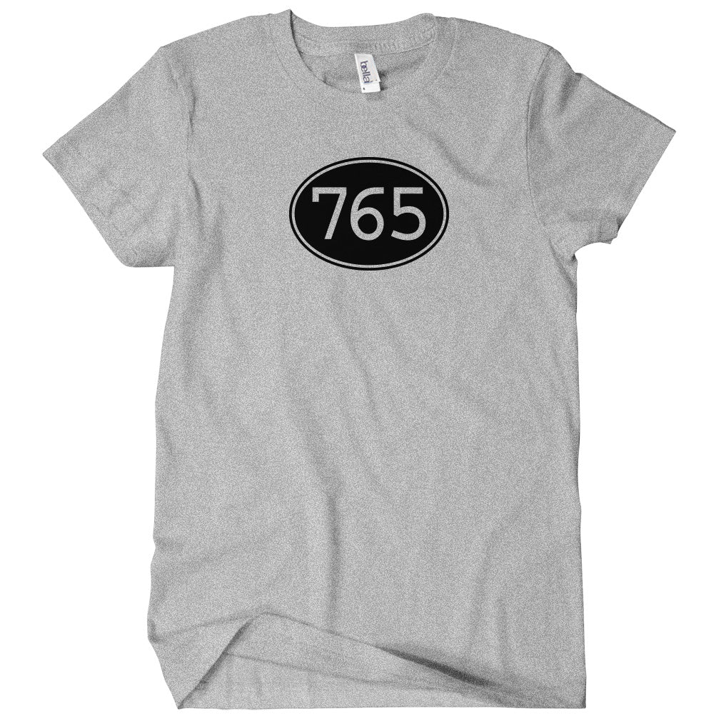 Area Code 765 Indiana T-shirt