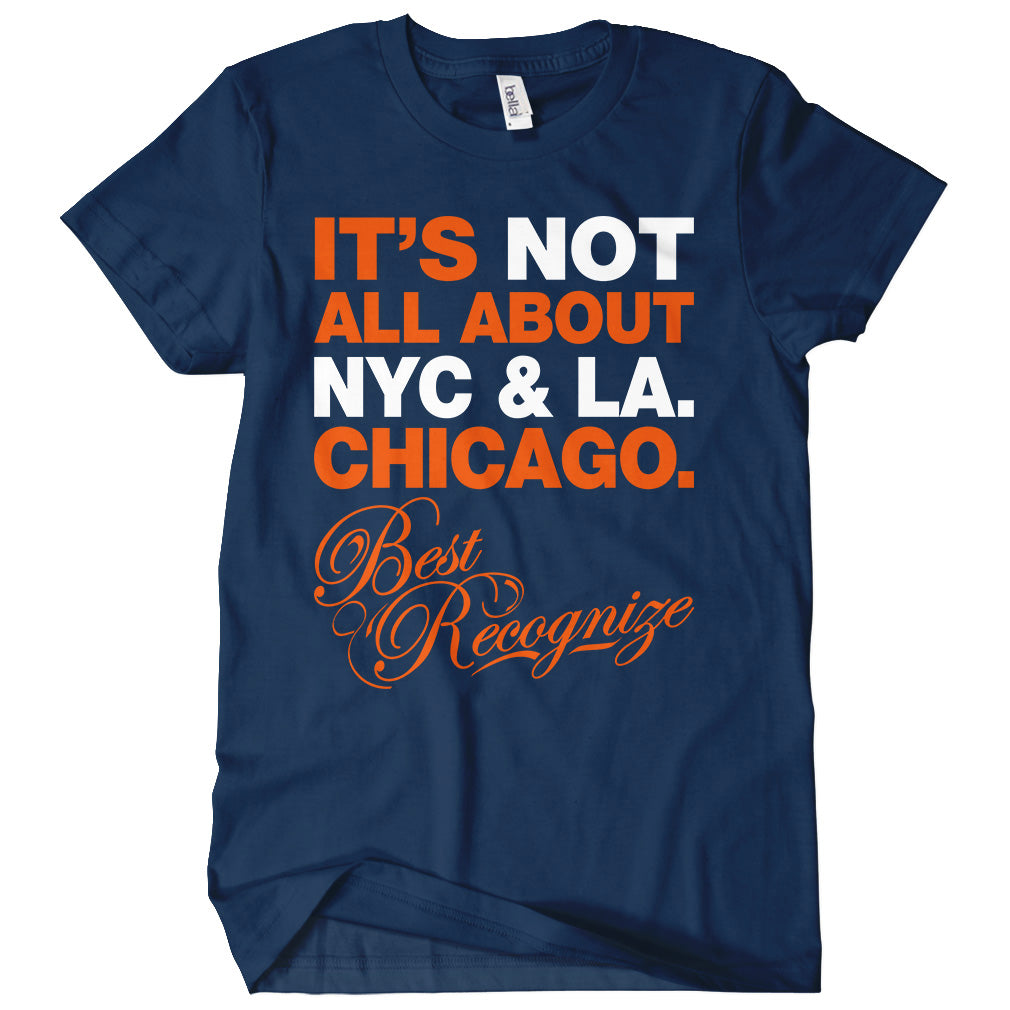 Best Recognize Chicago T-shirt