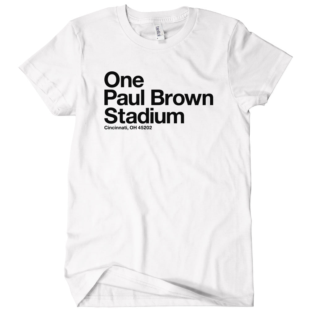 Cincinnati Football Stadium T-shirt