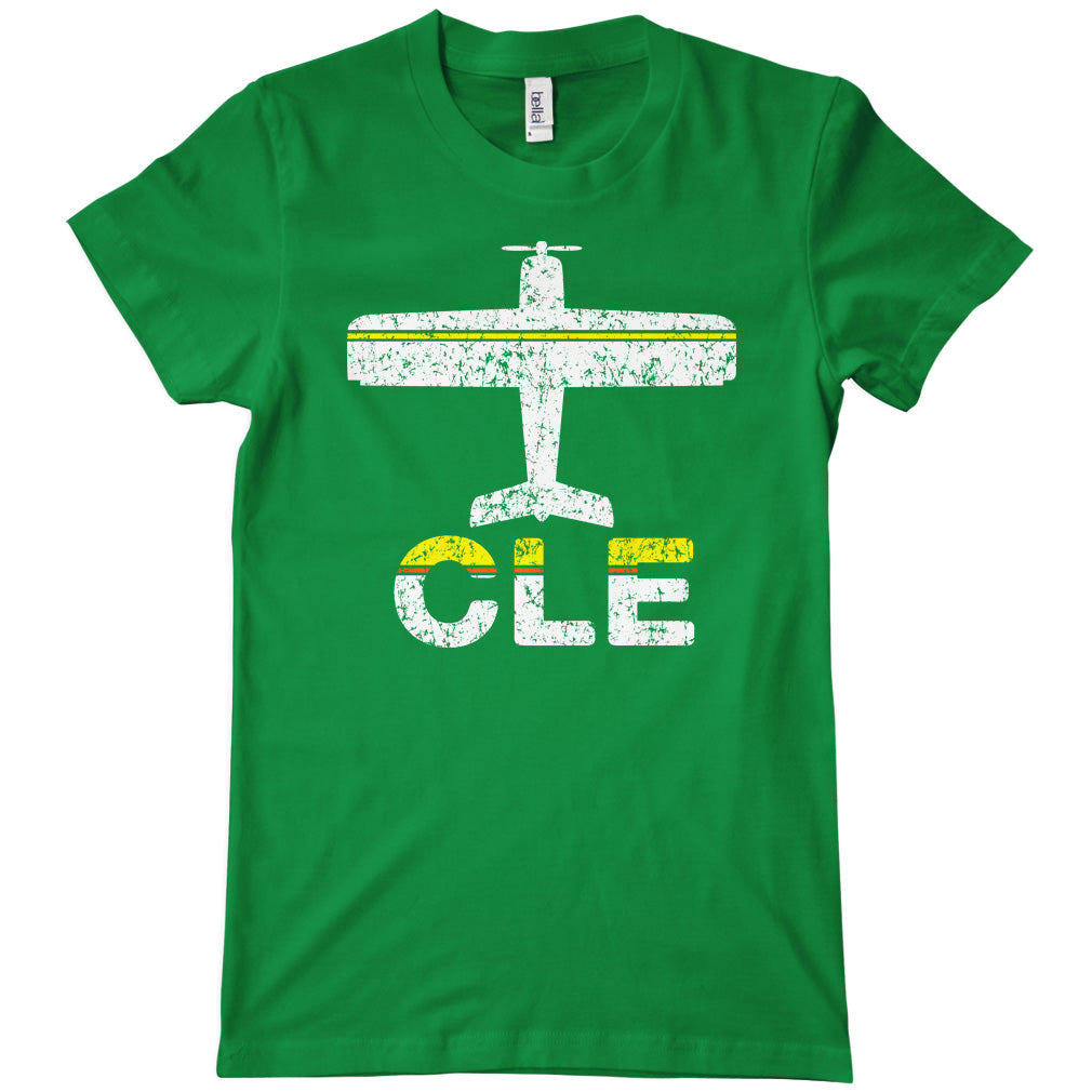 Fly Cleveland CLE Airport T-shirt
