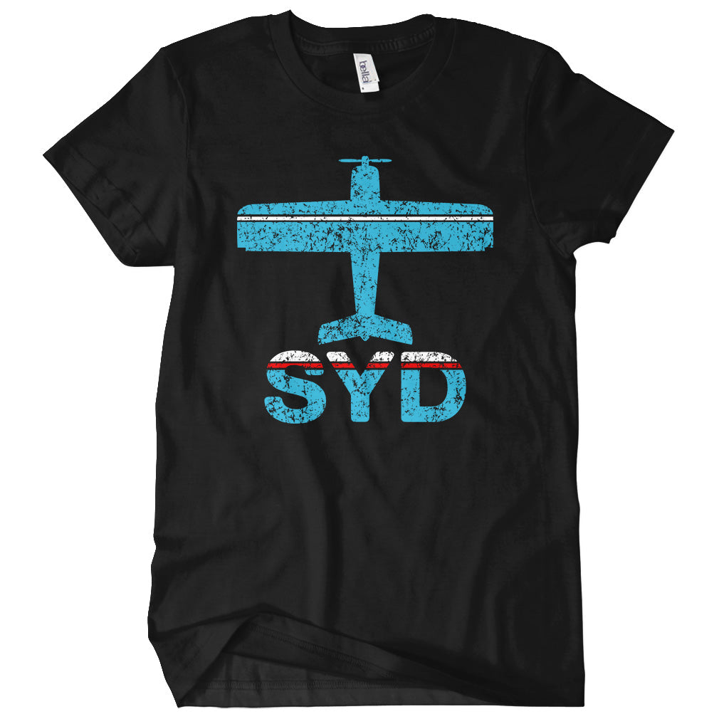 Fly Sydney SYD Airport T-shirt