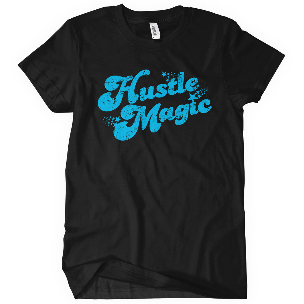 Hustle Magic Script T-shirt