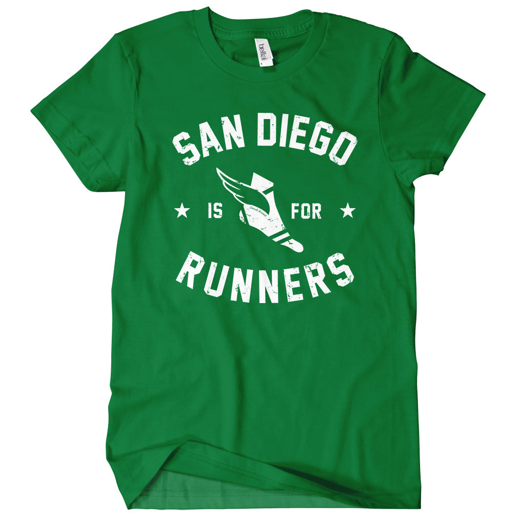 San Diego Is For Runners T-shirt