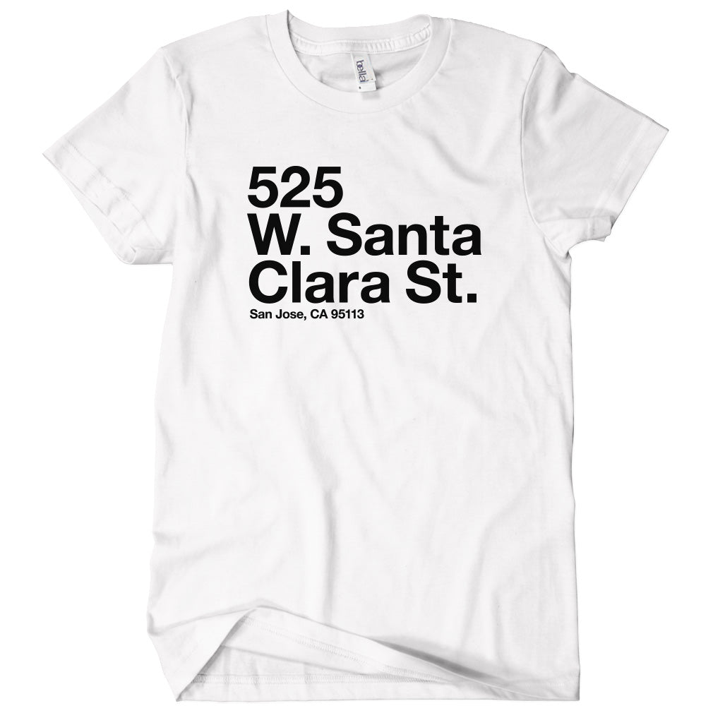 San Jose Hockey Stadium T-shirt