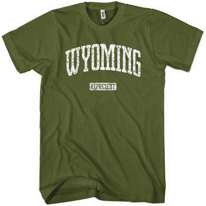 Wyoming Represent T-shirt