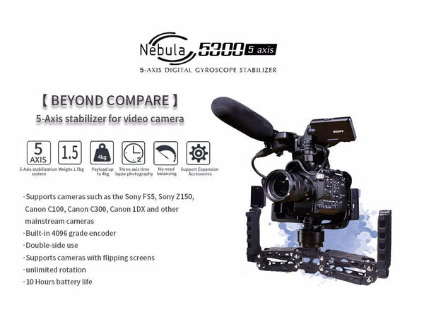Nebula 5300 5-Axis Stabilizer