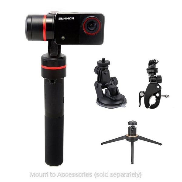 Summon+ 3-Axis Stabilized Handheld Camera - SteadyShot