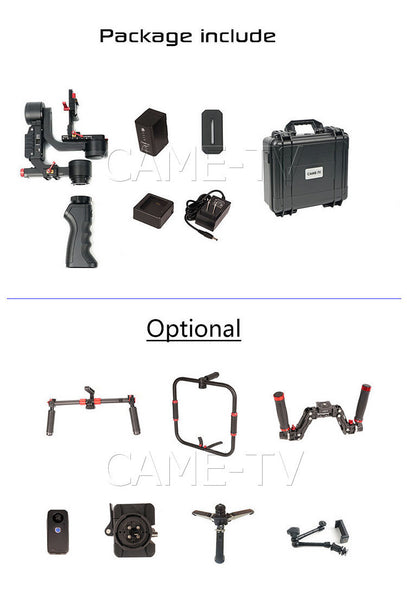 CAME-TV PROPHET 4 In 1 Gimbal - SteadyShot
