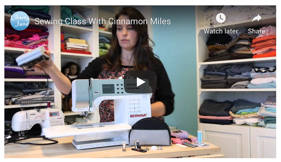 Learn To Sew With Cinnamon - Free Course