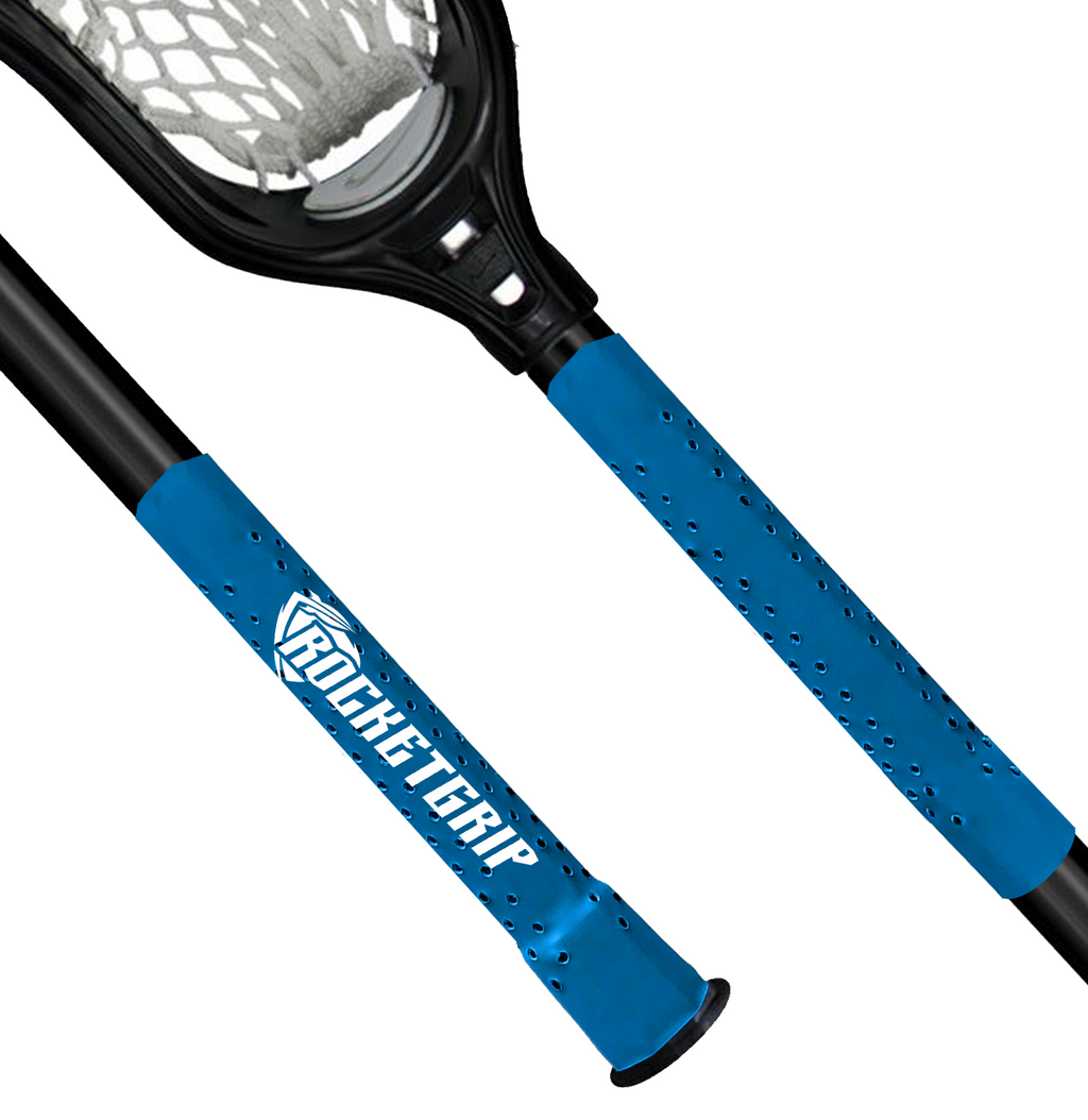 Blue Lacrosse grip