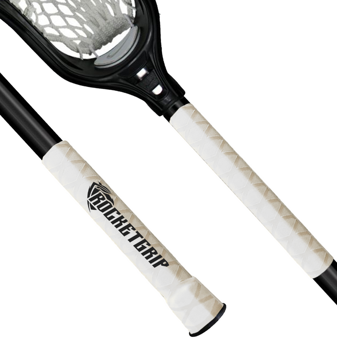 White Lacrosse Ultra grip
