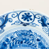 A collection of 18th century Dutch Delft blue and white plates of differing patterns. £95.00 each.