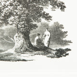 Sketches of trees in rural settings. Lithographs published by Ackerman 1821. £785 each.