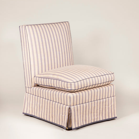 The Billy Baldwin chair made to order in the fabric of your choice. Price £5,350 plus vat - plus fabric.