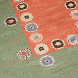 A 1930's Swedish rectangular rug by Marta Maas Fjetterstrom (signed).