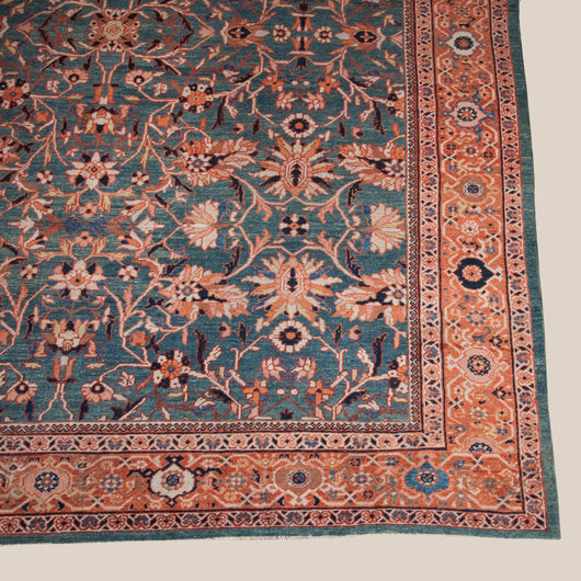 An antique Mahal carpet, North-West Persia. Circa 1900
