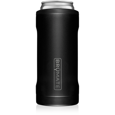 BruMate Hopsulator Slim Can Cooler (Matte Black)