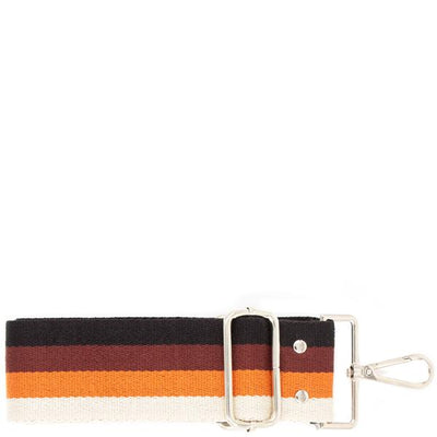 1 Guitar Handbag Strap (Brown Stripes)