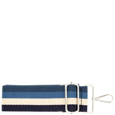 1 Guitar Handbag Strap (Blue Stripes)