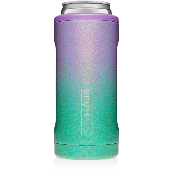 BruMate Hopsulator Slim Can Cooler (Glitter Mermaid)