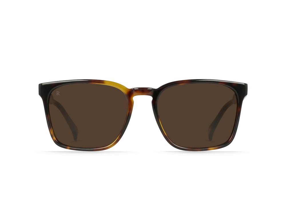 "RAEN ""Pierce"" Men's Square Sunglasses (Kola Tortoise/Brown)"