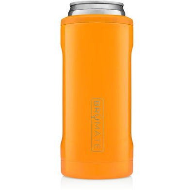BruMate Hopsulator Slim Can Cooler (Hunter Orange)