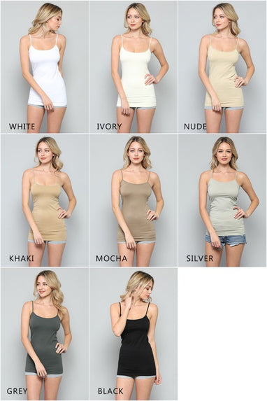 1 Seamless Tunic Cami (3 Colors)