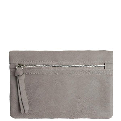 Sabina Wristlet/Crossbody (Gray)