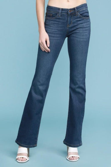 JUDY BLUE Mid Rise Bootcut Jean (Whitney)