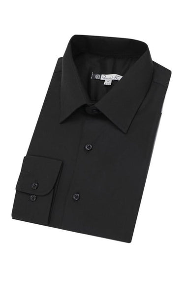 Daniel K Long Sleeve Shirt (Black)