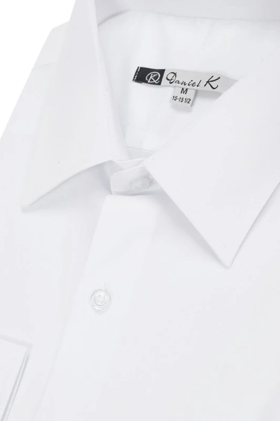 Daniel K Long Sleeve Solid Shirt (White/700)