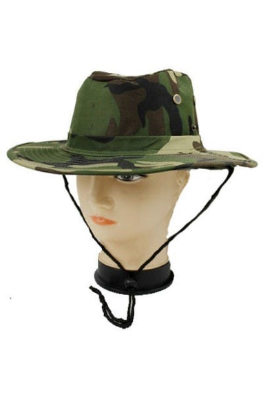 Camo Bucket Hat (Green Camoflauge)