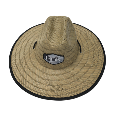 HUK Camo Patch Straw Hat (Erie)