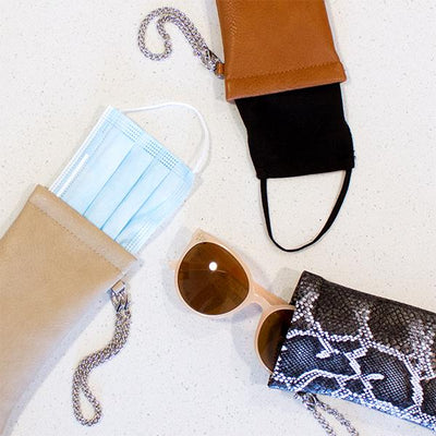 1 Sunglasses Pouch (Bone)